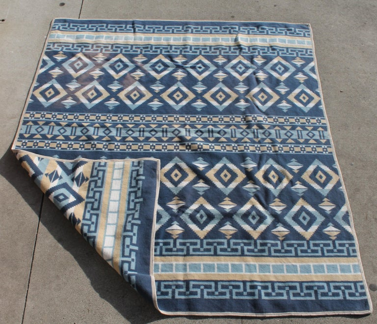 Country Indian Camp Blanket / Beacon Mft. Cotton For Sale