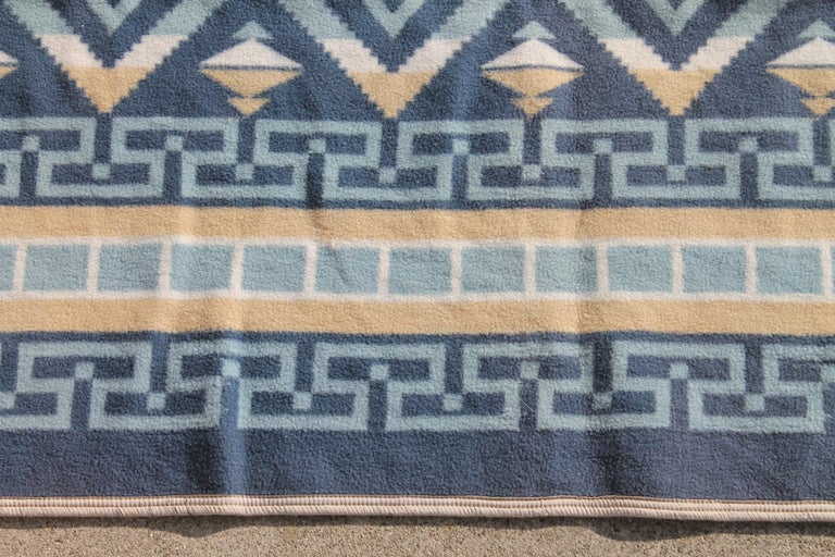 American Indian Camp Blanket / Beacon Mft. Cotton For Sale