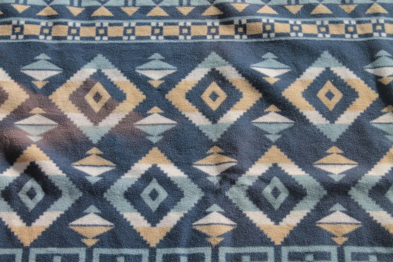20th Century Indian Camp Blanket / Beacon Mft. Cotton For Sale