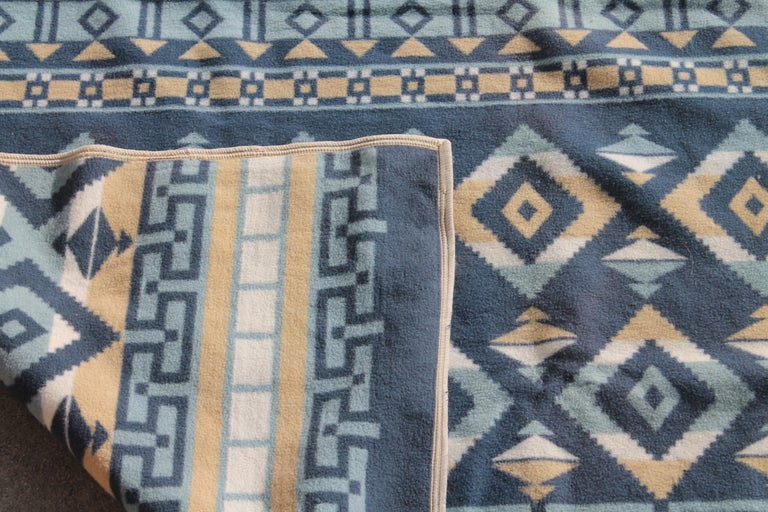 Indian Camp Blanket / Beacon Mft. Cotton For Sale 1