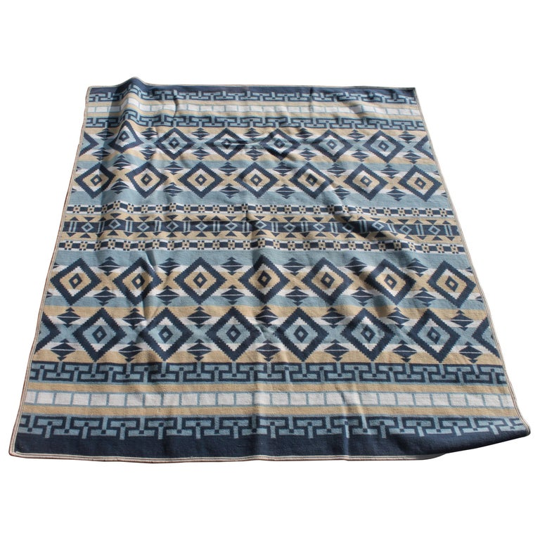 Indian Camp Blanket / Beacon Mft. Cotton For Sale