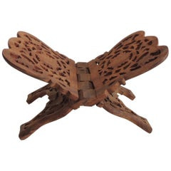Indian Hand Carved Book Display or Stand