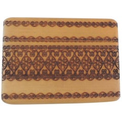 Indian Hand Carved Playing Cards Holder