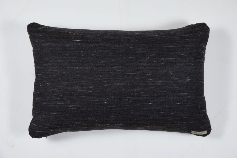 Contemporary Indian Handwoven Yak Wool Pillow For Sale