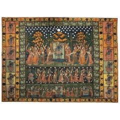 Indian Hanging Wall Art, circa 1860s