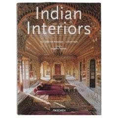 """Indian Interiors"" Hard Cover Book"