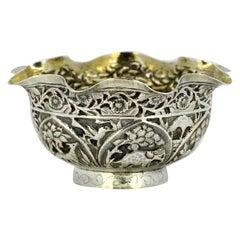 Indian Kutch Silver Small Bowl, circa 1900