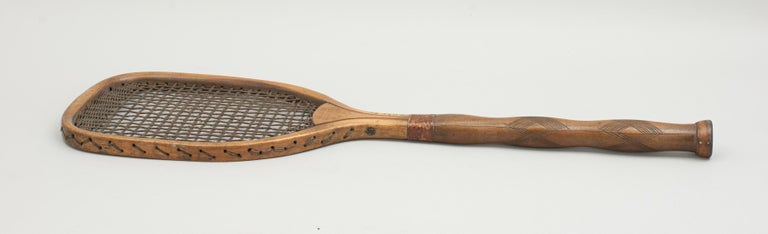 Late 19th Century Indian Lawn Tennis Racket For Sale