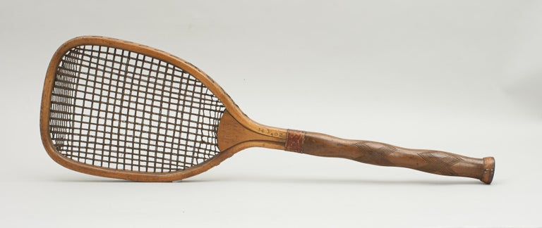 Indian Lawn Tennis Racket For Sale 1