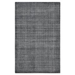 Indian Made Hand-Knotted Contemporary Solid Area Rug