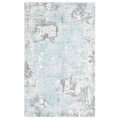 Indian Made Handmade Contemporary Abstract Area Rug