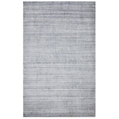 Indian Made Handmade Contemporary Solid Area Rug