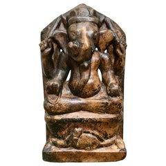 Indian Marble Carving of Ganesha, Remover of Obstacles
