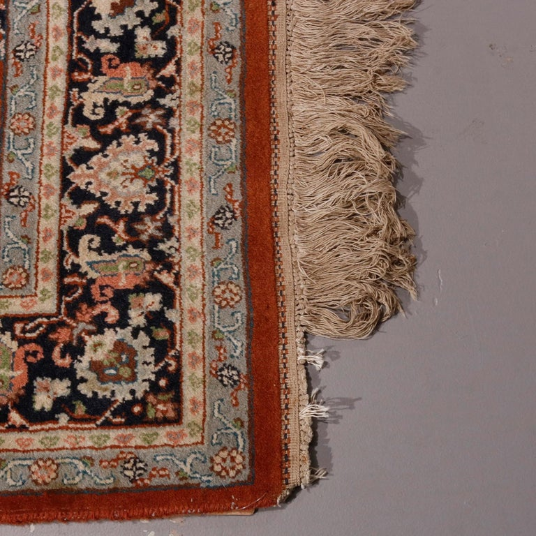 Indian Persian Floral Shah Abbas Rug, 20th Century For Sale 1
