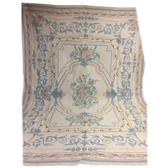 Indian Tapestry Rug Top Condition with Silk