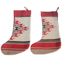 Indian Weaving Xmas Stockings or Pair