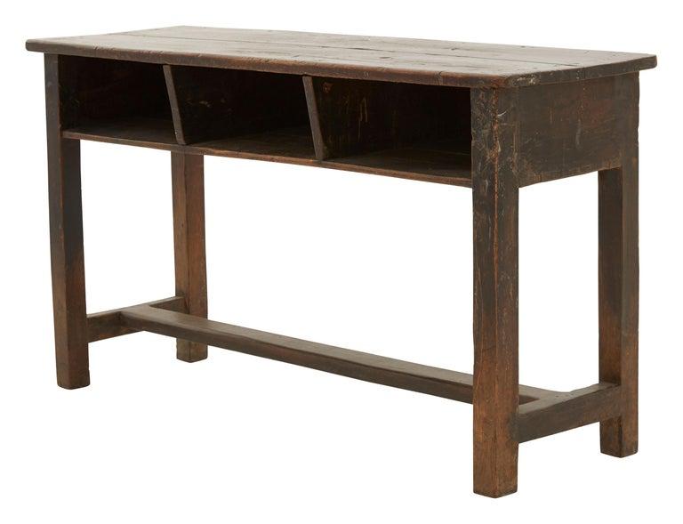 Indian Wooden School Desk