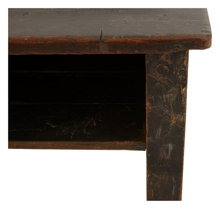 20th Century Indian Wooden School Desk For Sale