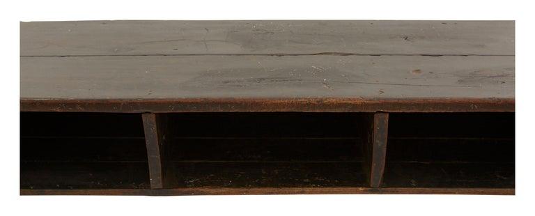 Indian Wooden School Desk For Sale 1