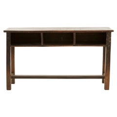 Indian Wooden School Desk