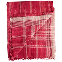 Indian Wool Throw, 20th Century