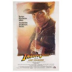 'Indiana Jones and the Last Crusade' 1989 U.S. One Sheet Film Poster