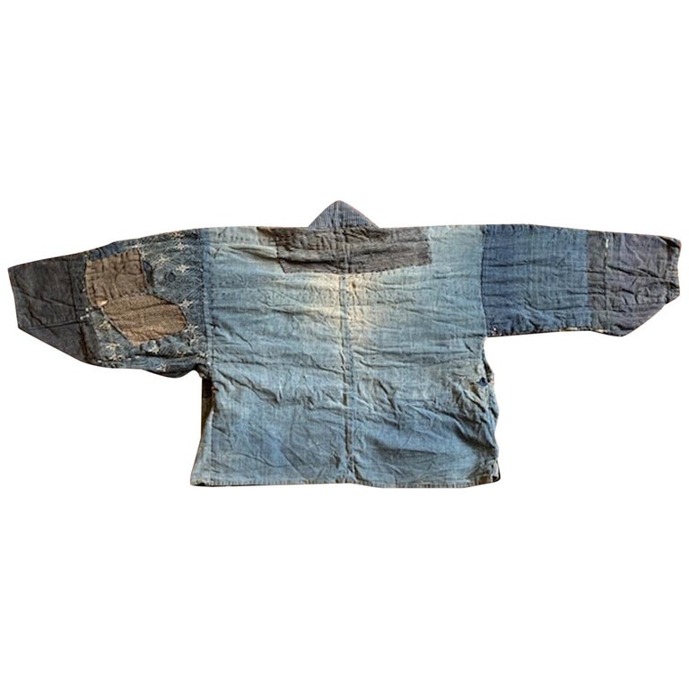 Indigo jacket, late 19th century, offered by Mundys Asia Galleries