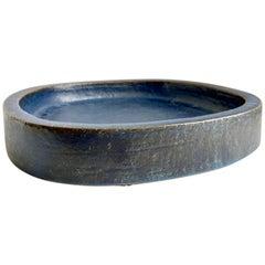Indigo Stoneware Dish by Per Linnemann-Schmidt