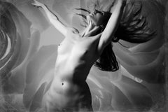 Goddess and Roses No 3 Featuring Katherine Crockett, Photography, Dance, Signed