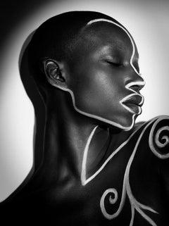 The Labyrinth - Iyanna No 5, Medium Format Photography, Aluminum, Signed