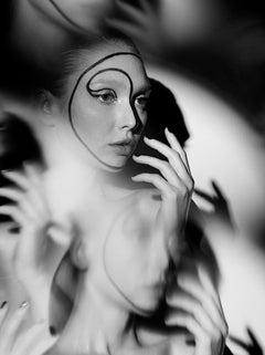 The Labyrinth - Natalya No 4, Medium Format Photography, Aluminum, Signed