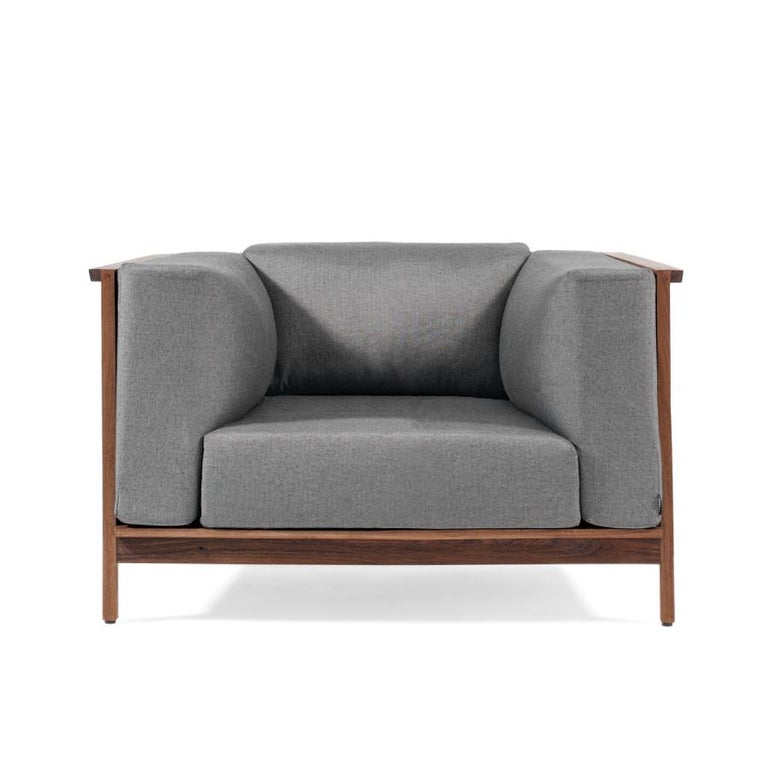 Modern Individual Confort, Mexican Contemporary Armchair by Emiliano Molina for Cuchara For Sale