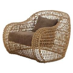 Indoor Balou Easy Armchair by Kenneth Cobonpue