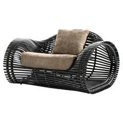 Indoor Lolah Easy Armchair by Kenneth Cobonpue