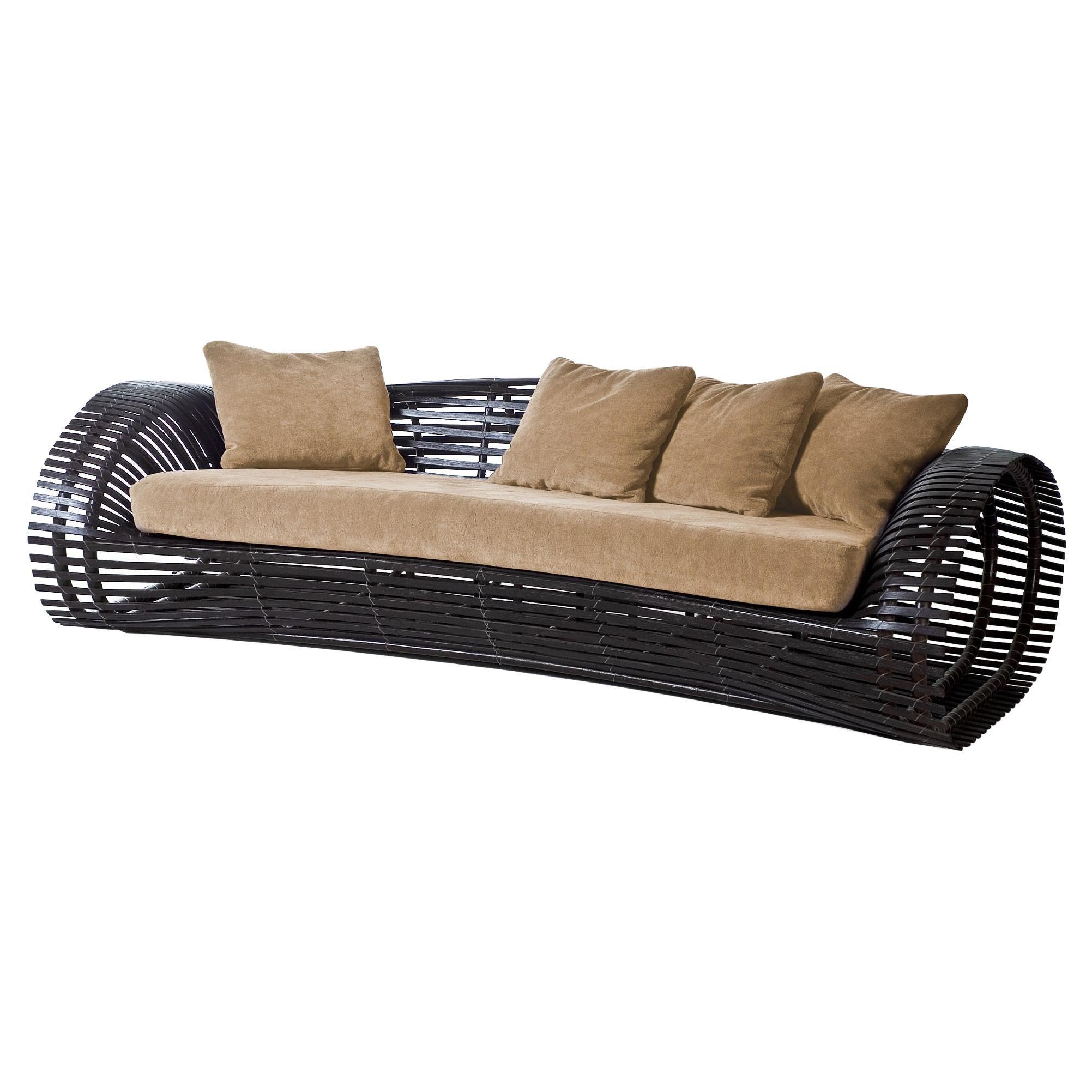 Indoor Lolah Sofa by Kenneth Cobonpue