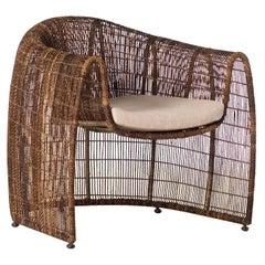 Indoor Lulu Club Chair by Kenneth Cobonpue