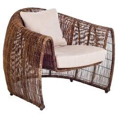 Indoor Lulu Easy Armchair by Kenneth Cobonpue