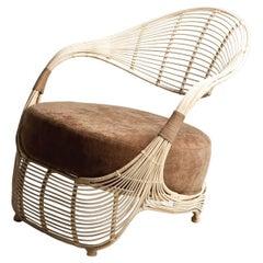 Indoor Manolo Easy Armchair by Kenneth Cobonpue