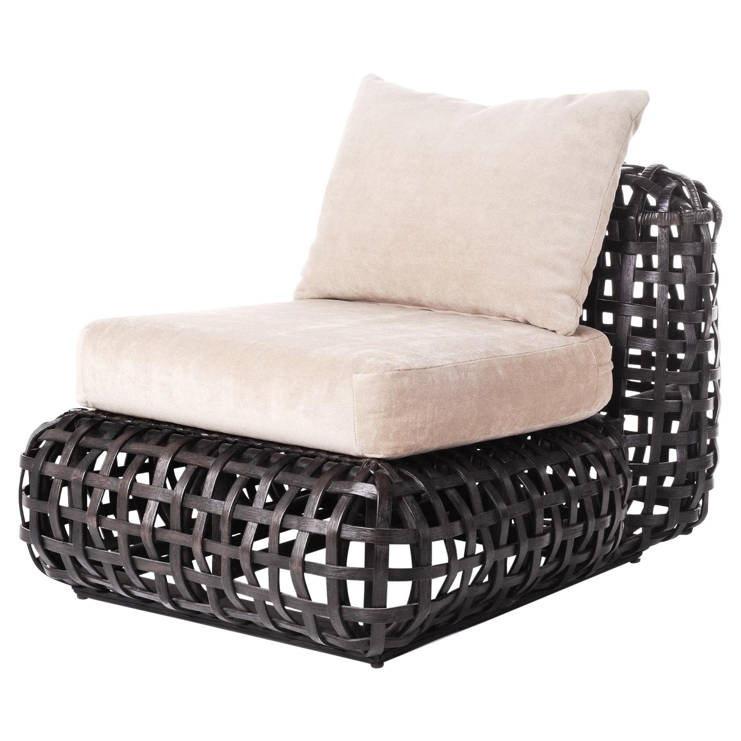 Indoor Matilda Easy Chair by Kenneth Cobonpue