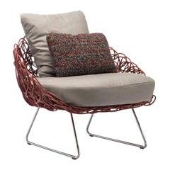 Indoor Noodle Easy Armchair by Kenneth Cobonpue