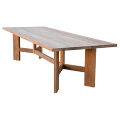 Indoor or Outdoor Dining Table Made from Teak