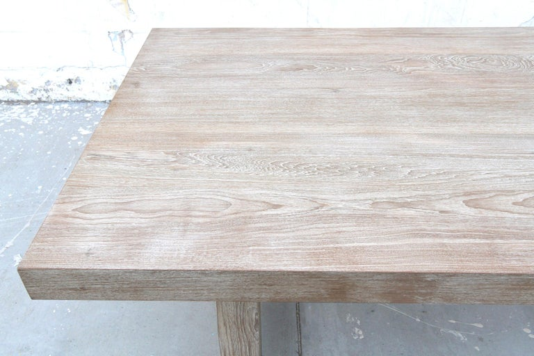 Indoor or Outdoor Teak Dining Table For Sale 4