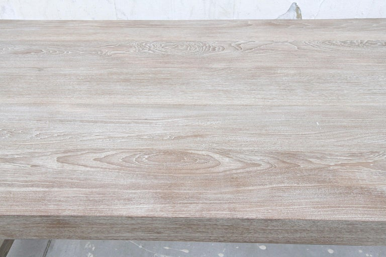 Indoor or Outdoor Teak Dining Table For Sale 5