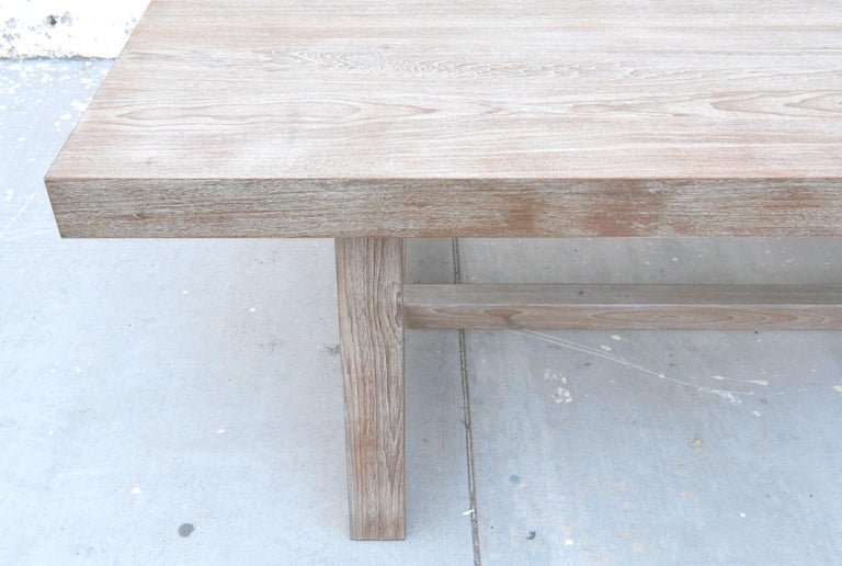 Indoor or Outdoor Teak Dining Table For Sale 9
