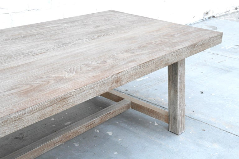 North American Indoor or Outdoor Teak Dining Table For Sale