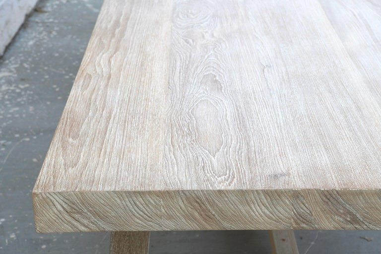 Indoor or Outdoor Teak Dining Table For Sale 1