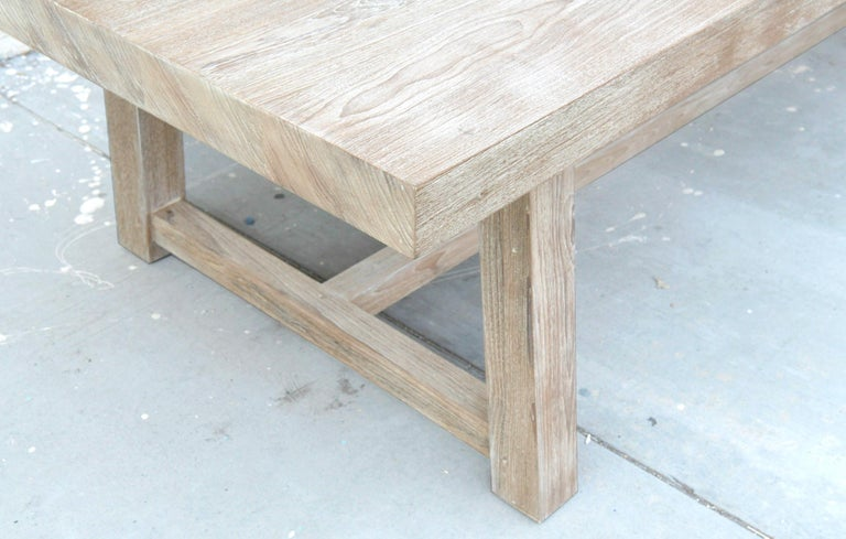 Indoor or Outdoor Teak Dining Table For Sale 2