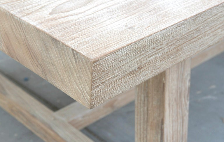 Indoor or Outdoor Teak Dining Table For Sale 3