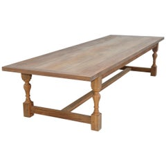 Indoor or Outdoor Teak Dining Table
