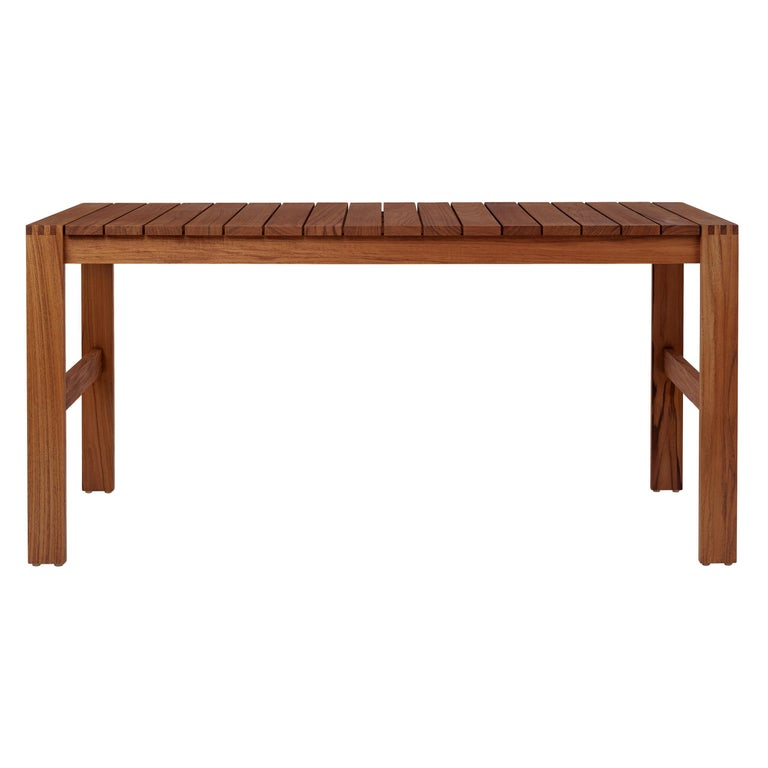 Indoor-Outdoor BK15 Dining Table in Teak Oil by Bodil Kjær For Sale